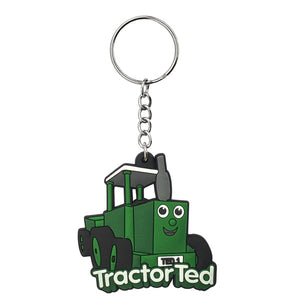 A soft, rubber Tractor Ted ...