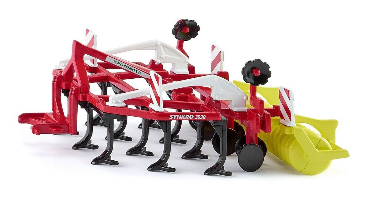 Siku Model Pottinger Synkro 3030 Cultivator 2067