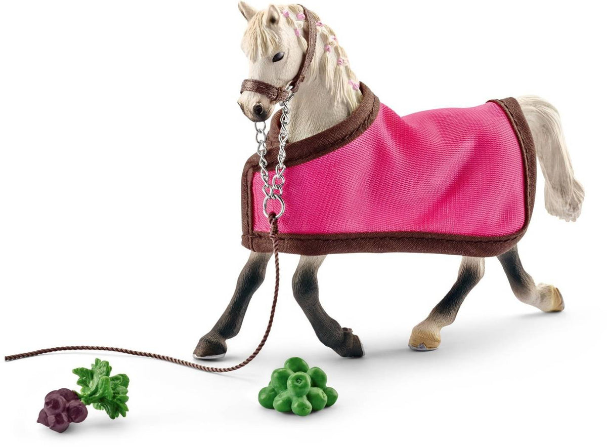 Horse Club Schleich Arab Mare Toy With Blanket