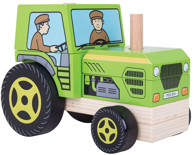 Stacking Tractor (BIGJIGS) [BB125]