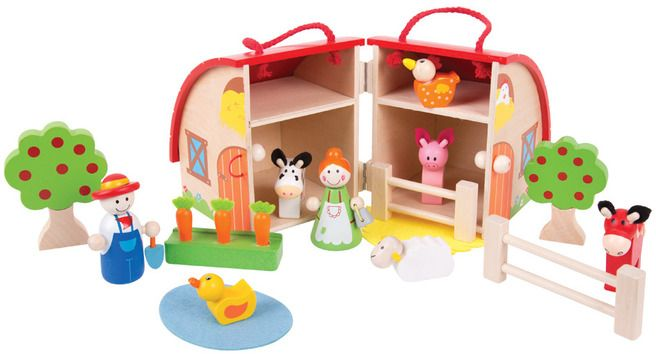 Farm Mini Playset (BIGJIGS) [BJ684]