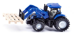 New Holland tractor with ad...