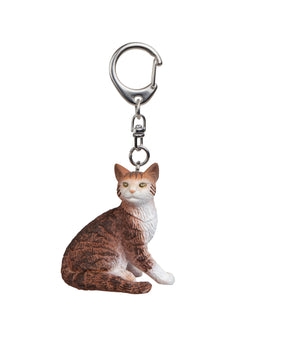 A Cat Keyring from Papo.