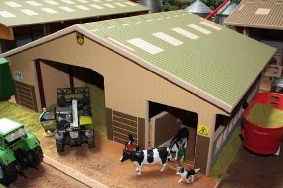 3 Bay Multi-Purpose Shed Brushwood Toys BT4000