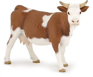The Brown & White Cow f...