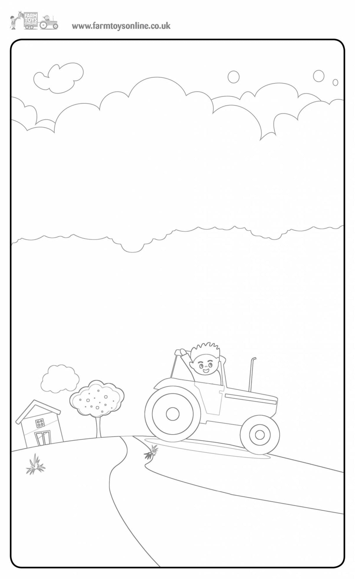 Farmer Freddie's Free Colouring Sheet 3