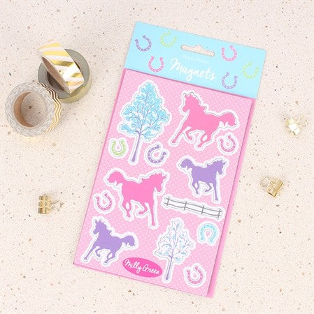 Playful Ponies Magnets
