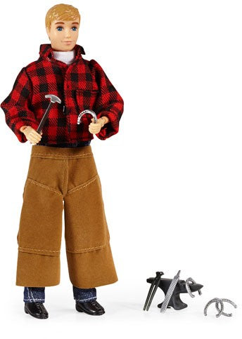 Breyer Traditional Farrier with Blacksmith Tools 8