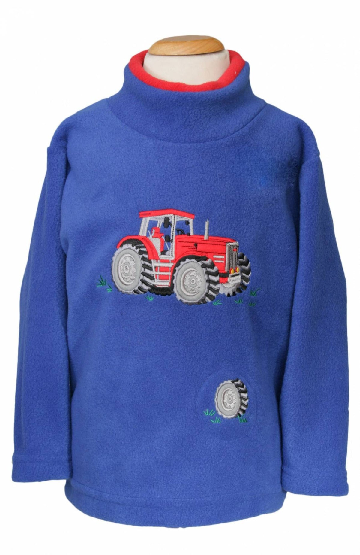 Childrens Tractor Noise Fleece Top