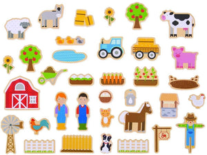These colourful Farm Magnet...