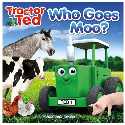 Who Goes Moo Book (Tractor Ted)