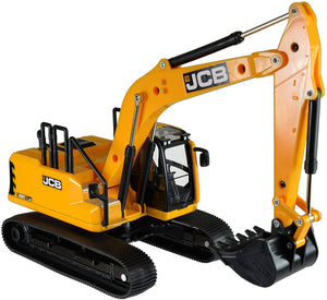 A diecast JCB with a rotati...