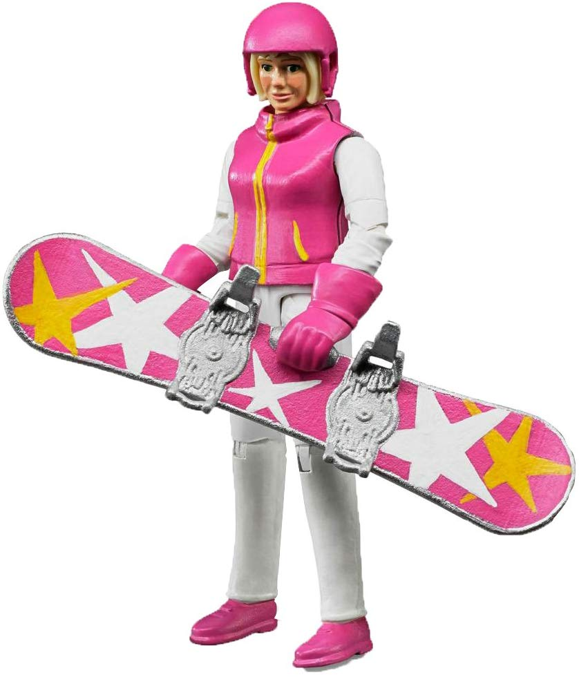 Female Snowboarder with Accessories Bruder 60420