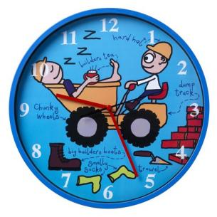 Tyrell Katz Wheels Wall Clock