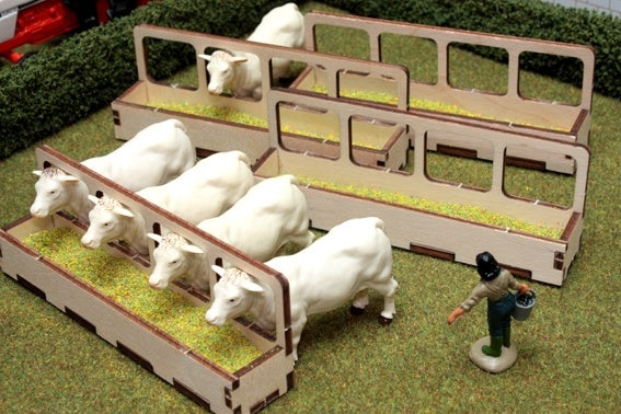 Brushwood Toys Wooden Barrier Feeders BT2074