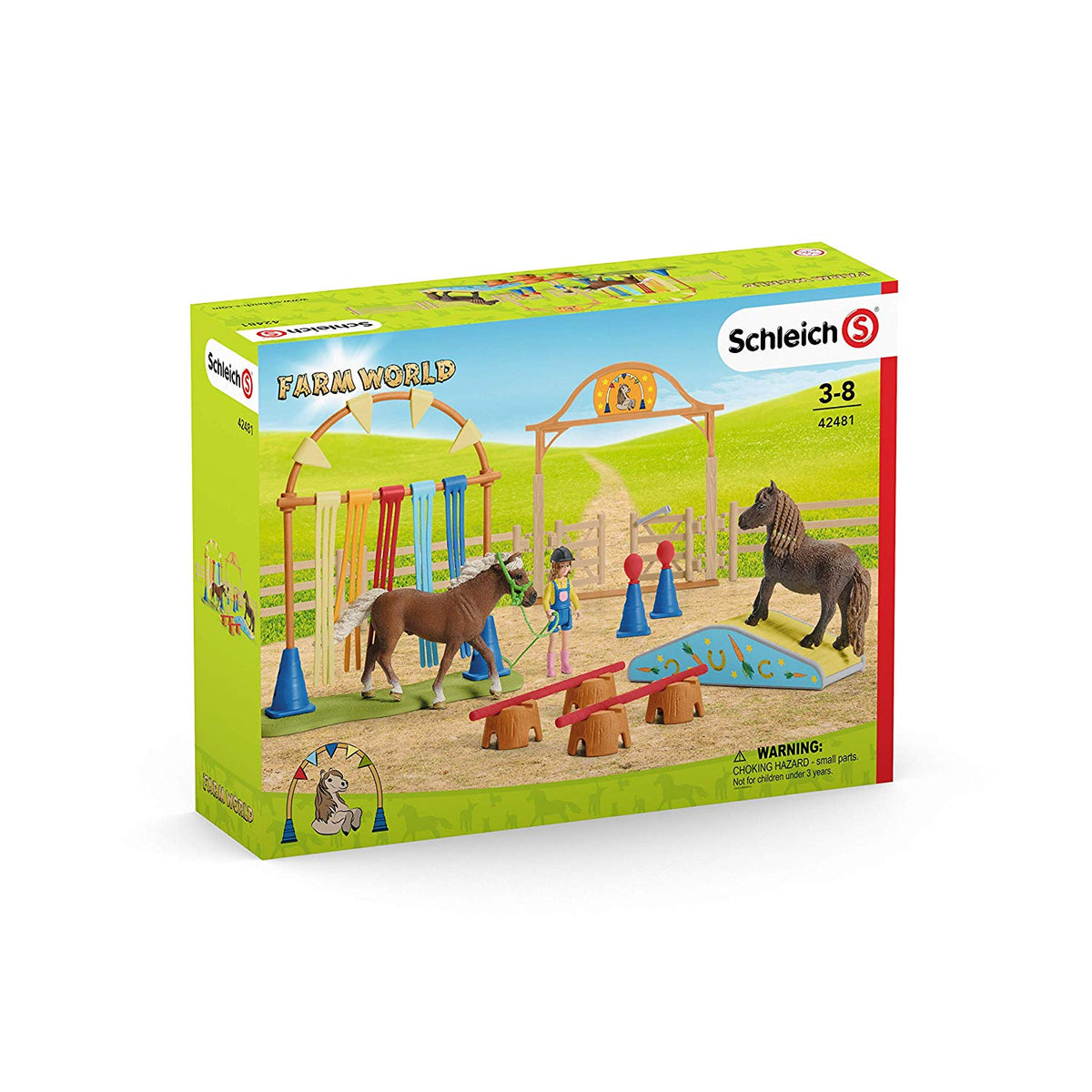 Pony Agility Training (Schleich) [42481]