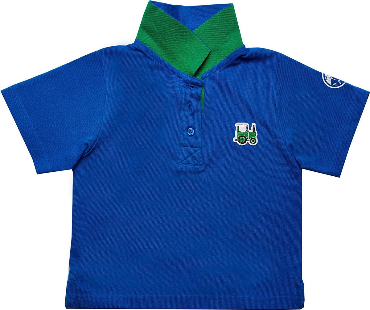 Tractor Ted Blue Polo Shirt
