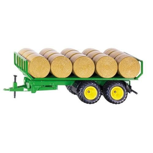 Siku 2891 Bale Trailer with Round Hay Bales