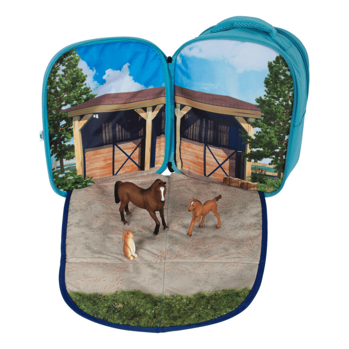 Animal Planet 3D Horse Backpack Play Set
