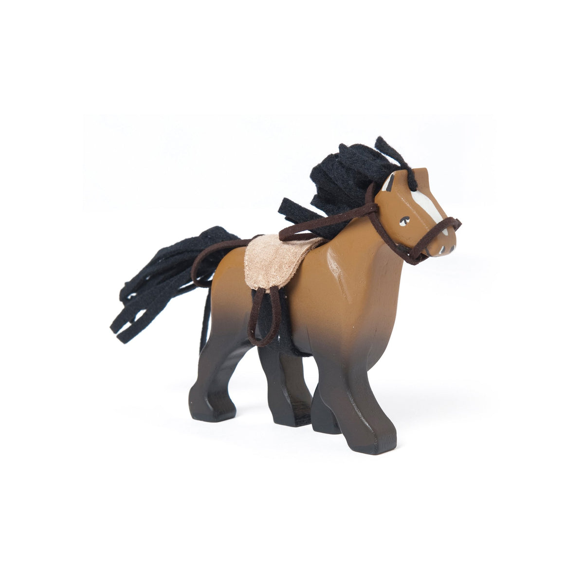 Le Van Toy Brown Wooden Horse