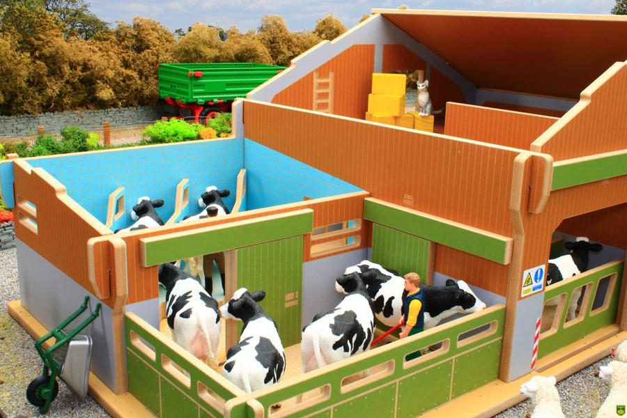 My Big Farm Set with Animals and Tractor