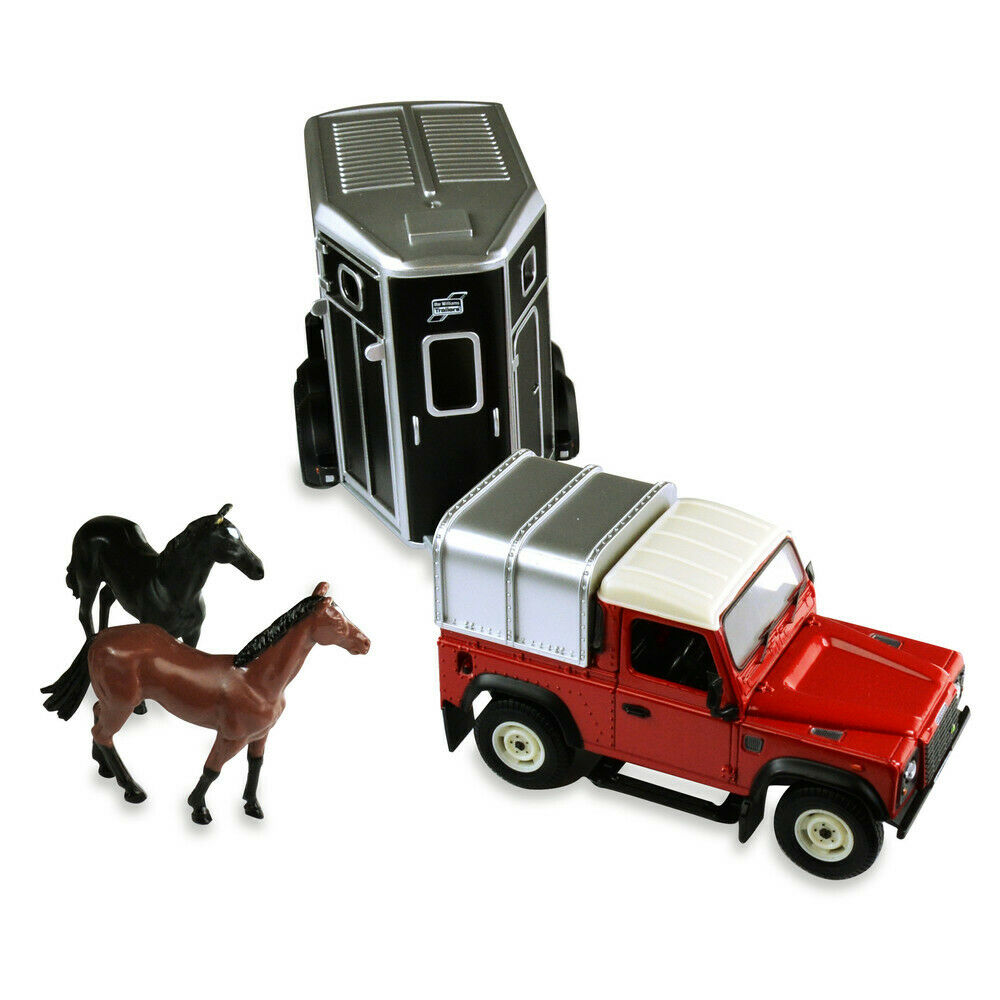 Britains 43239 Land Rover and Horse Box 2