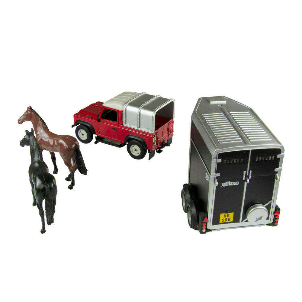 Britains 43239 Land Rover and Horse Box 3