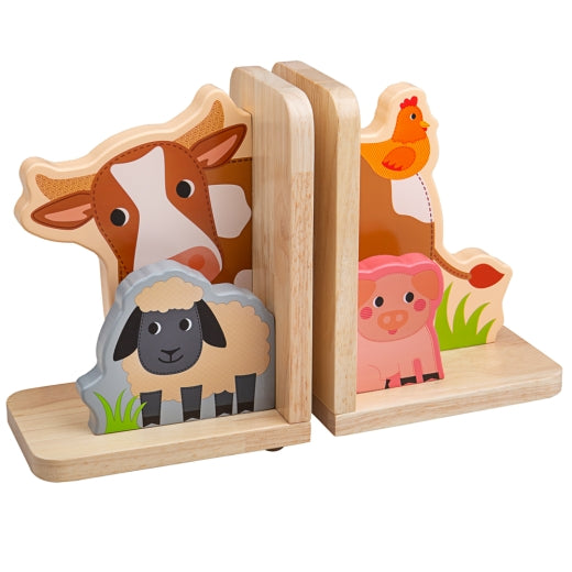Farm Bookends Bigjigs TO601