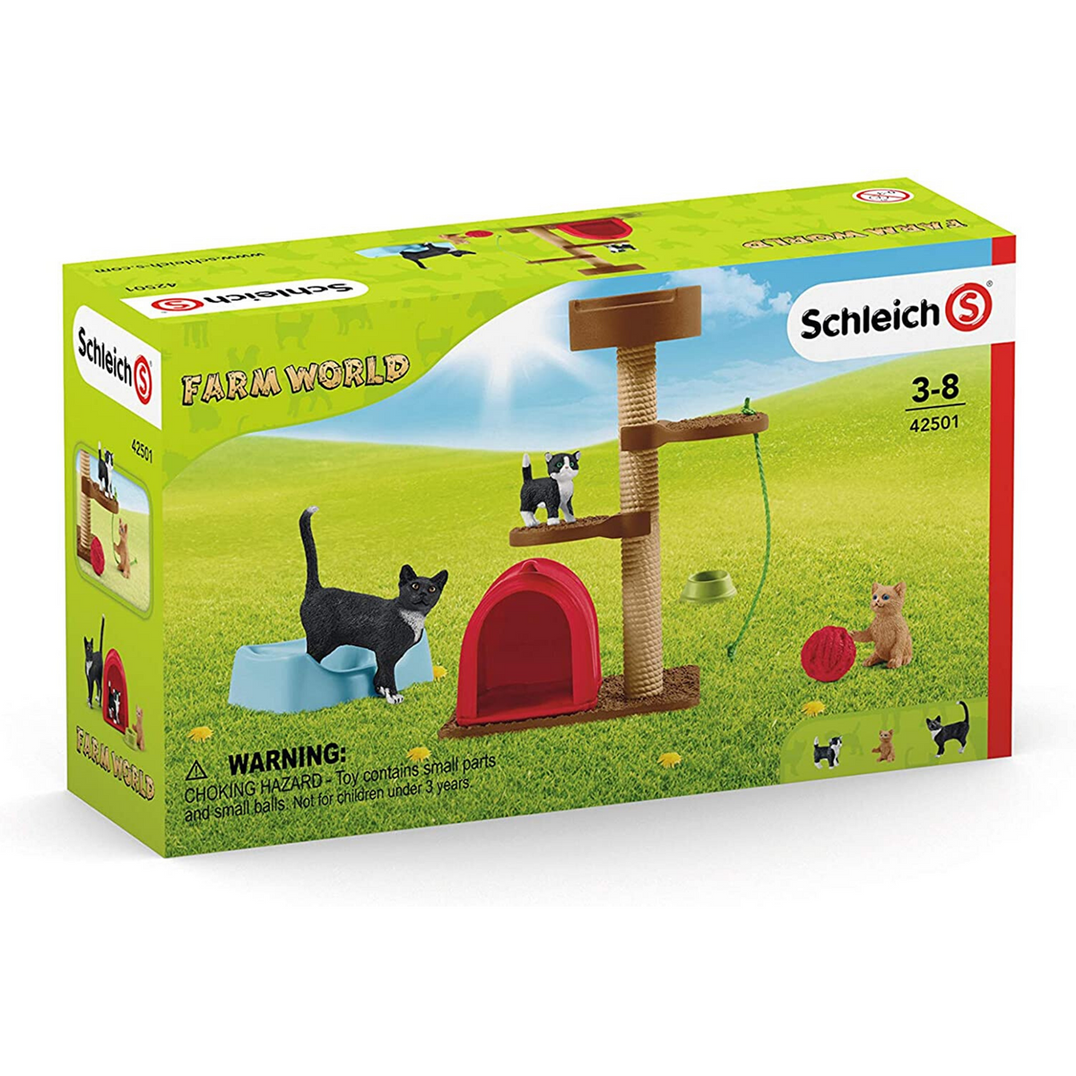 Schleich Farmworld Playtime for Cute Cats