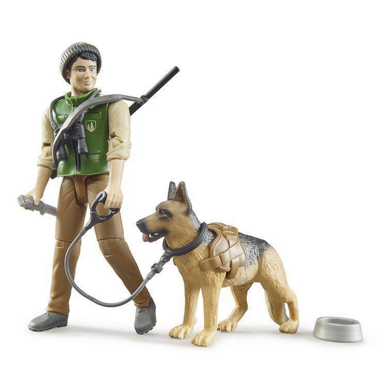 Bruder Forest Ranger, Dog & Equipment