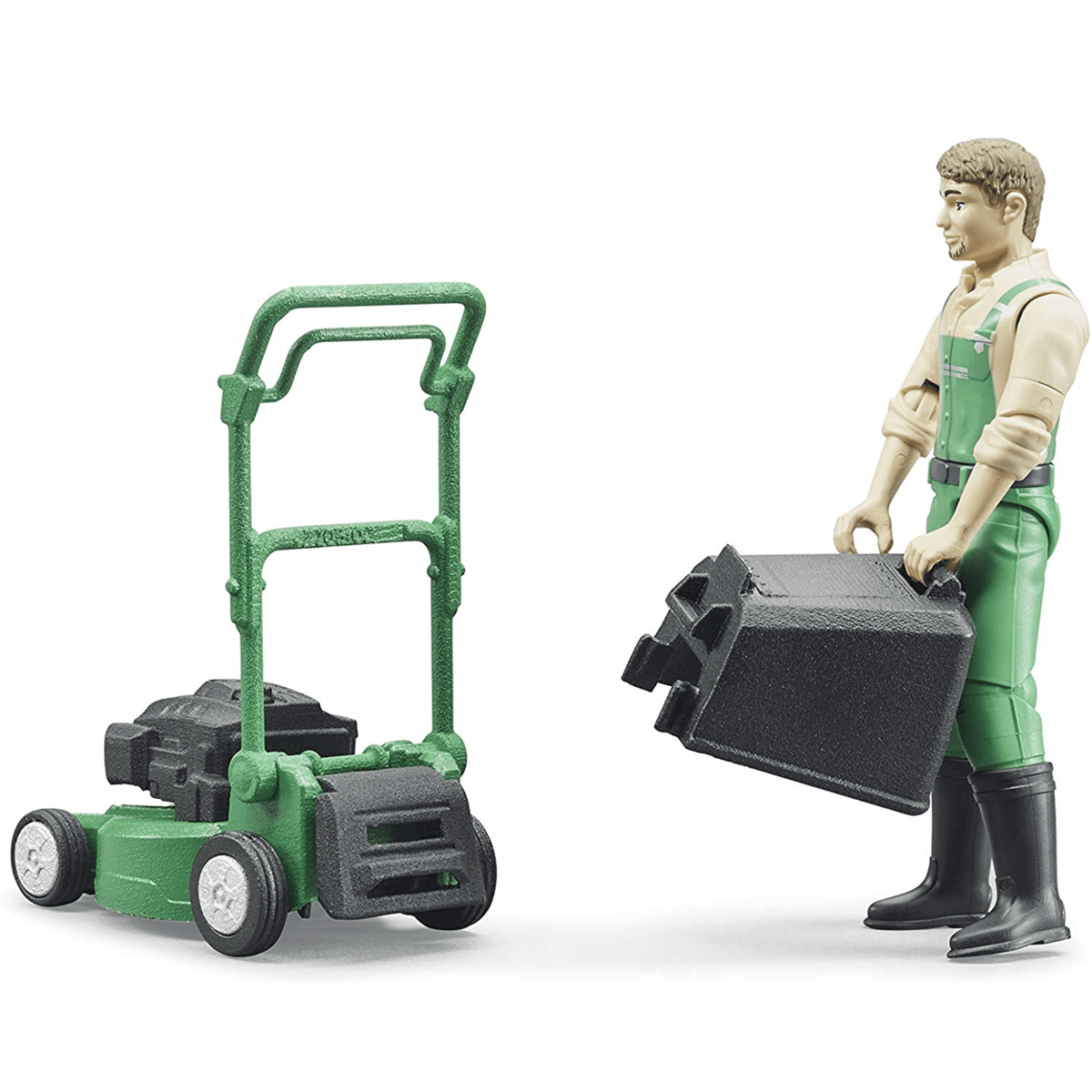 Bruder Gardener and Mower Set