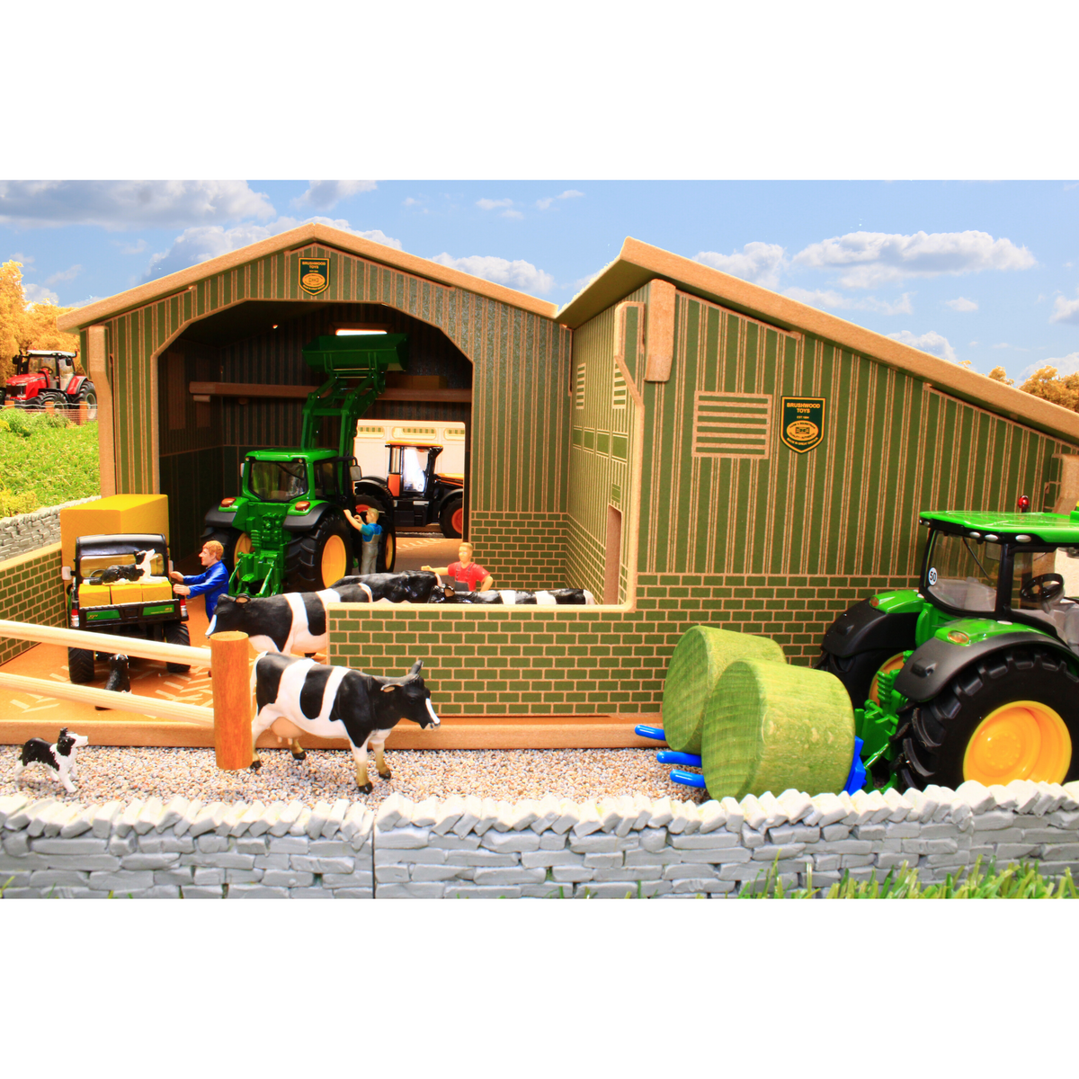Brushwood Toys My First Farm Toy Building