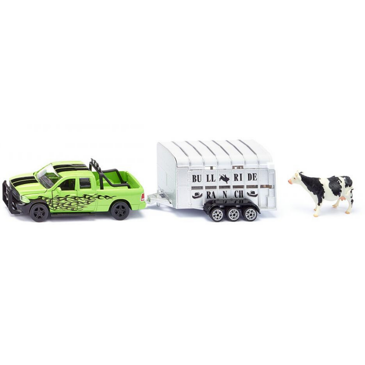 RAM 1500 with livestock trailer Nr. 1998, 1:50