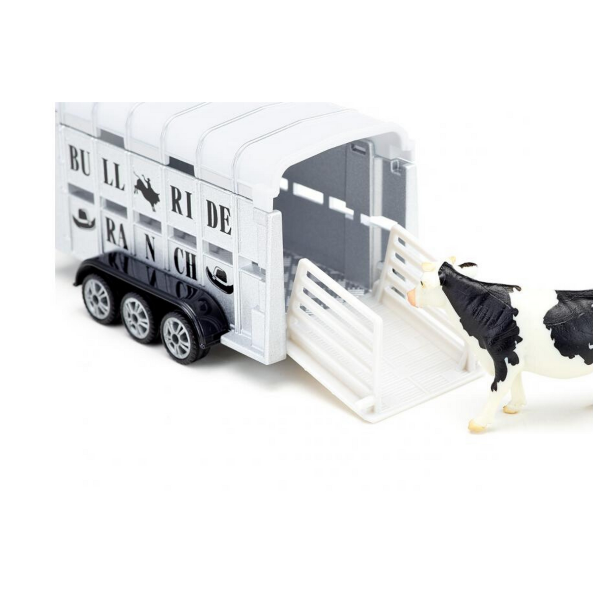 Siku RAM 1500 with livestock trailer Nr. 1998, 1:50
