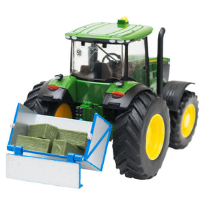 A tractor link box with dro...