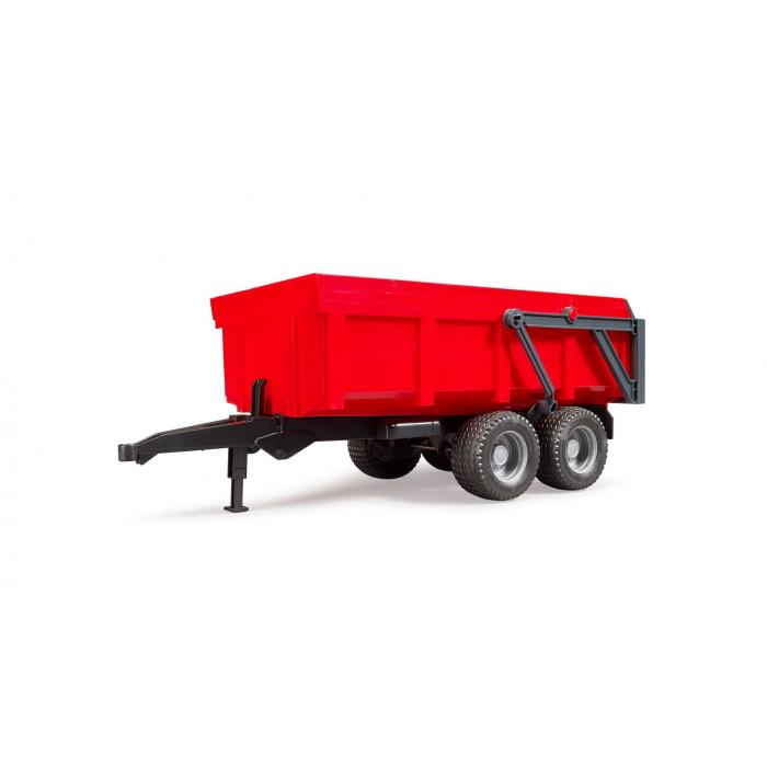 Bruder Red Tipping Trailer 02211