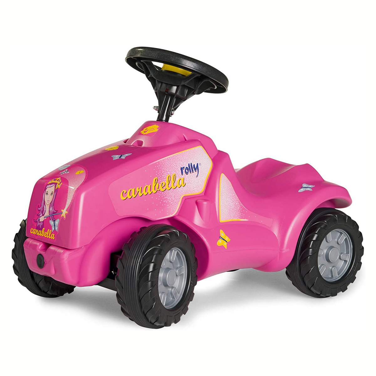Pink Rolly Minitrac Tractor