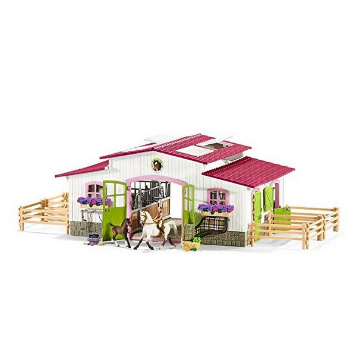 Schleich Riding Centre with Rider, Horses and Accessories