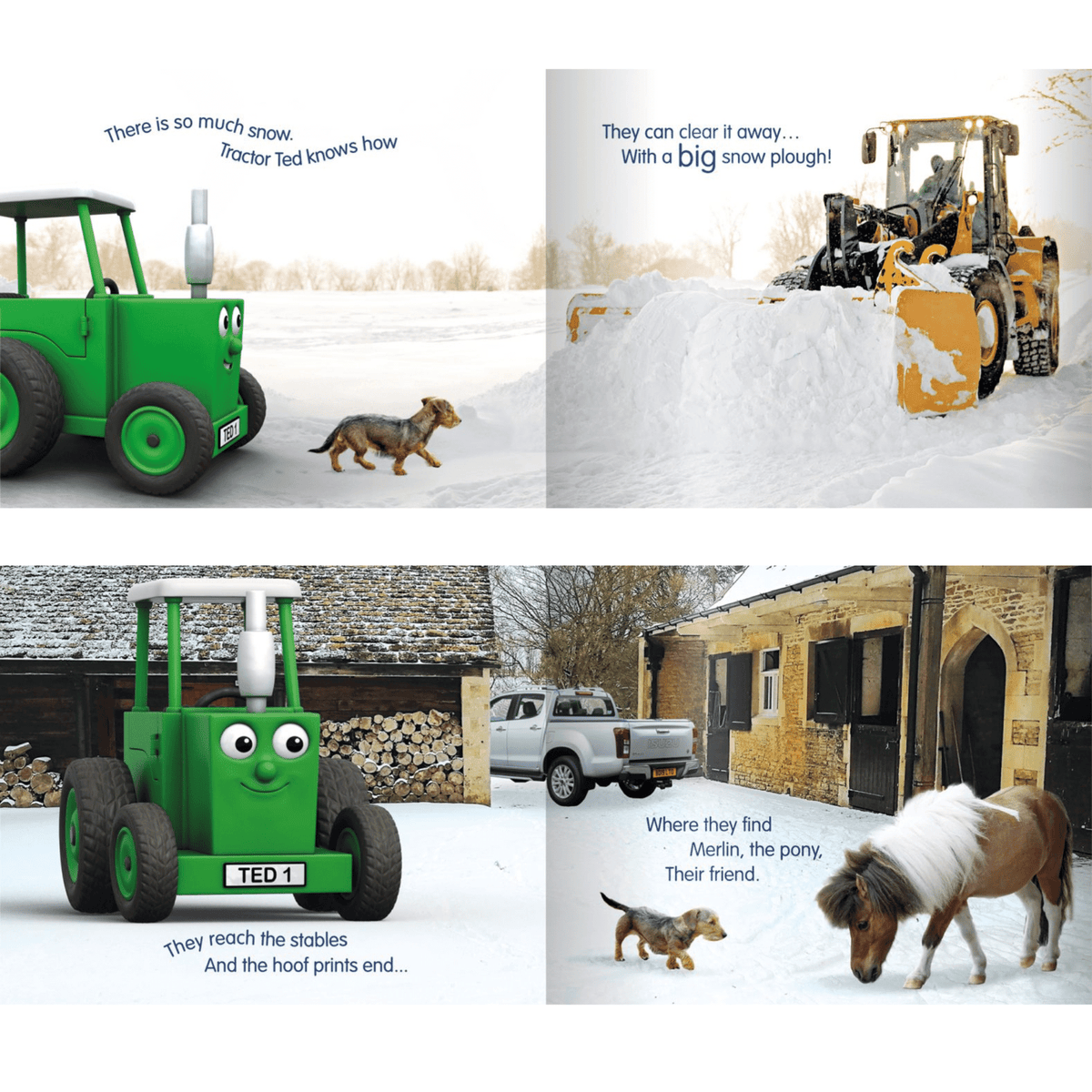 Tractor Ted A Winter's Day Book