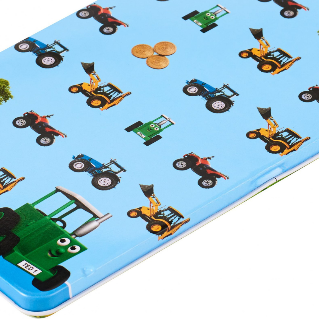 Tractor Ted Pencil Tin