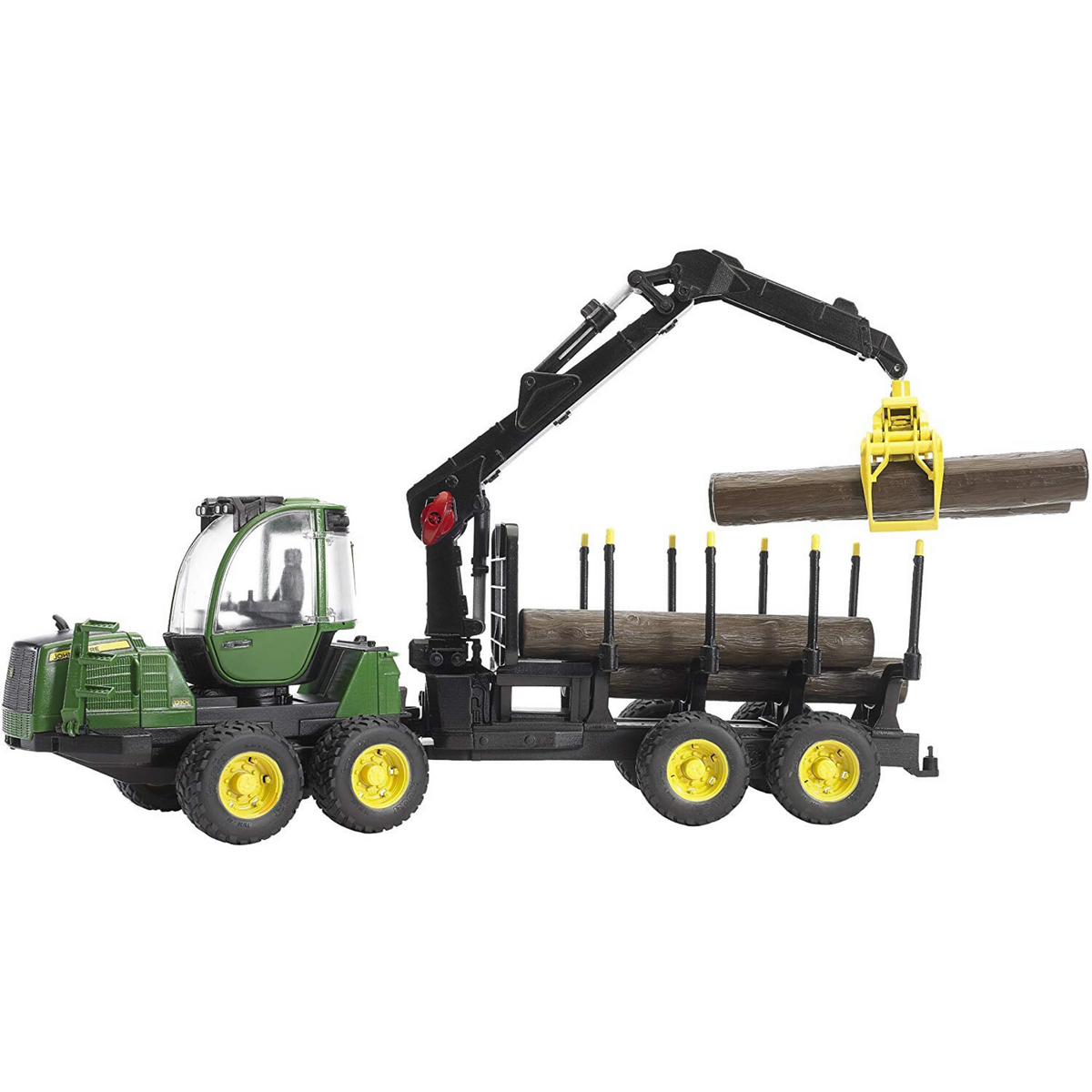 Bruder 02133 John Deere 1210E Forwarder with Grab