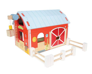 The Le Toy Van Red Barn res...