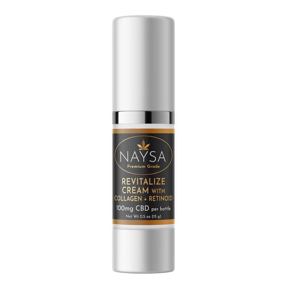 Revitalize Cream with Collagen & Retinol 100mg CBD