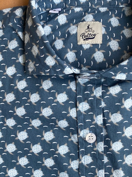Camisa Yale Turtles Navy