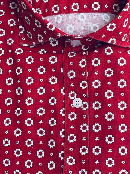 Camisa Yale Flower Red