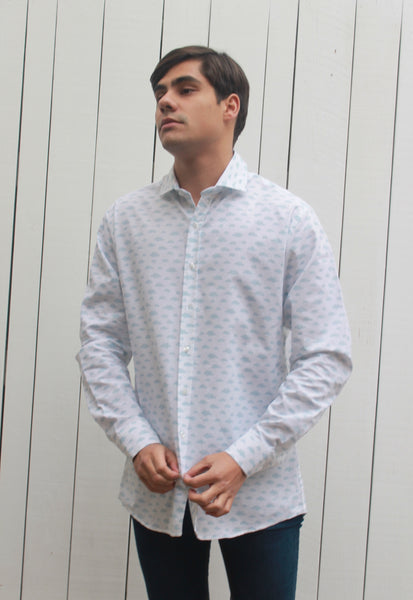 Camisa Yale Clouds White