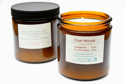 Cran Woods Candle