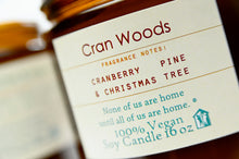 Load image into Gallery viewer, Cran Woods 16 oz Candle