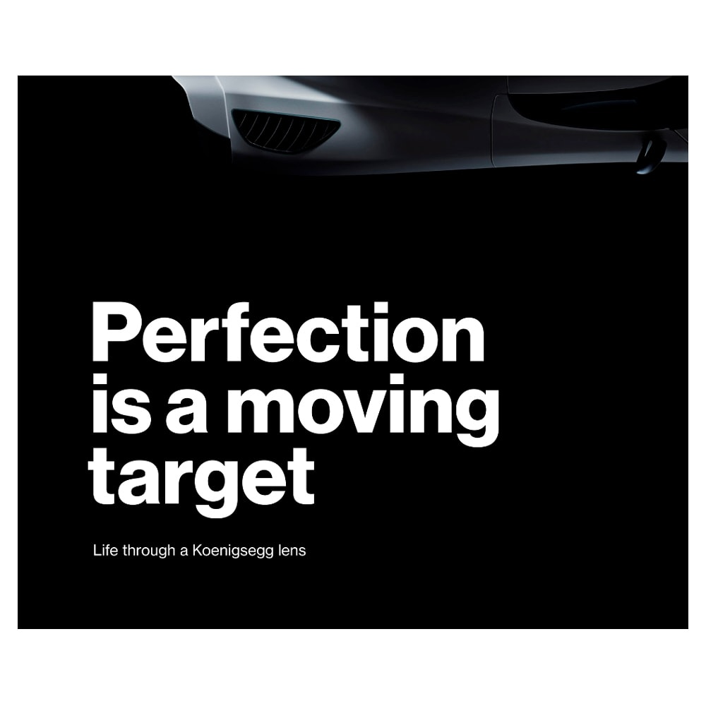 Book: Perfection is a Moving Target