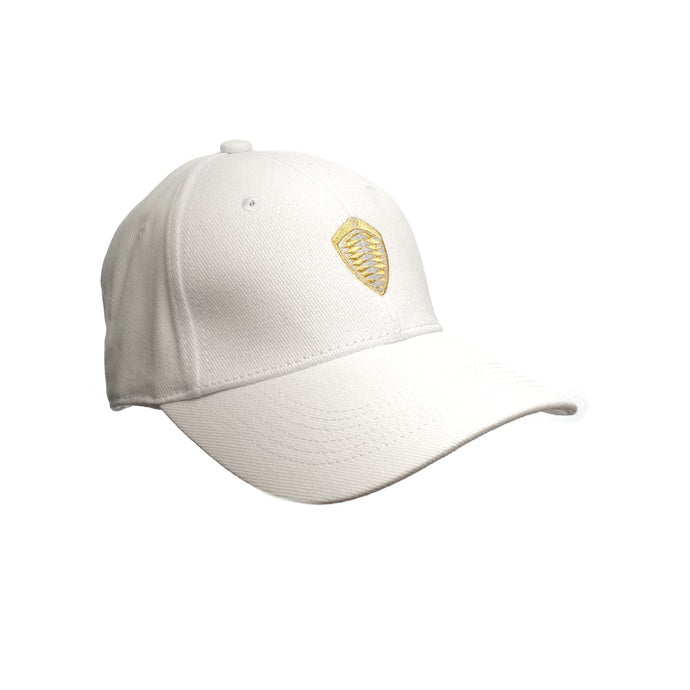 Koenigsegg White Cap - Gold Shield